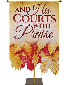 autumn contours church banner