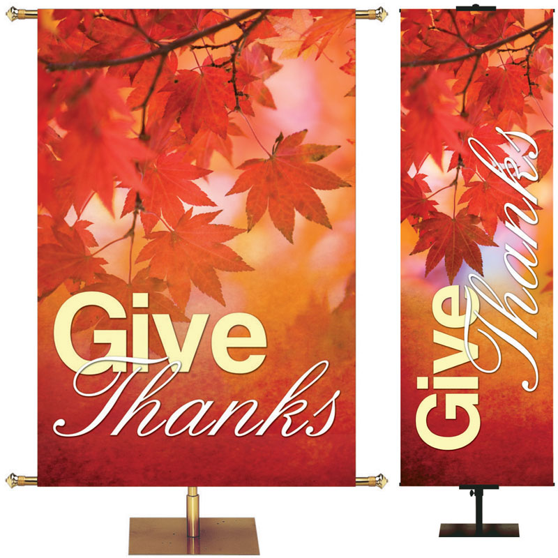 Thanksgiving and Fall Banner Clearance