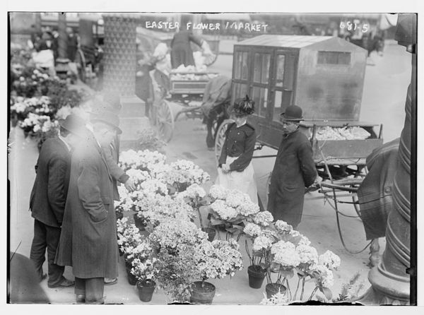 Easter Flower Market, Union Square, New York