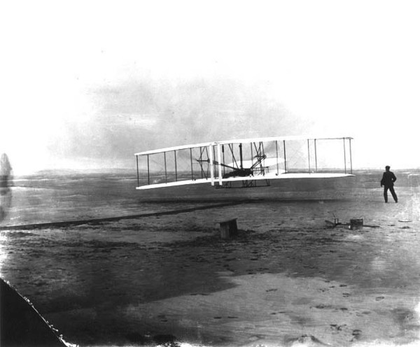 First flight, December 17, 1903