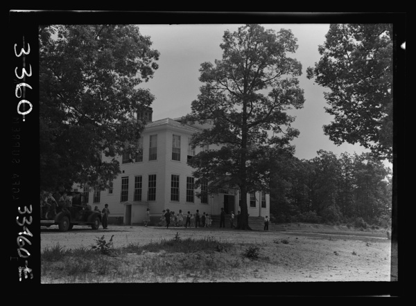 Charlotte County, Virginia. One of the seven schools which was consolidated to make the Randolph Henry High School. This building is now an elementary school