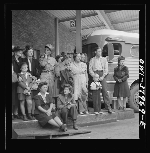 A Greyhound bus trip from Louisville, Kentucky, to Memphis, Tennessee, and the terminals