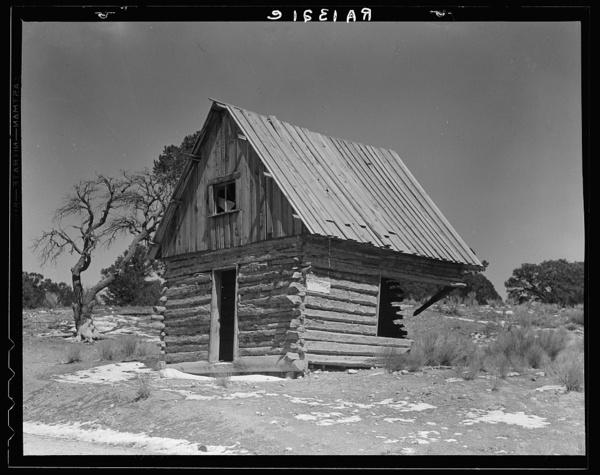 One of many abandoned homes in the Widtsoe area. Utah