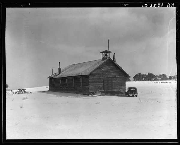 The church. Widtsoe is a Mormon community, as are all the settlements in the Great Basin. Utah
