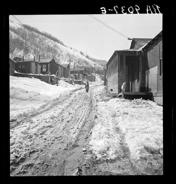 Main street in a Utah coal mining settlement. Consumers, near Price