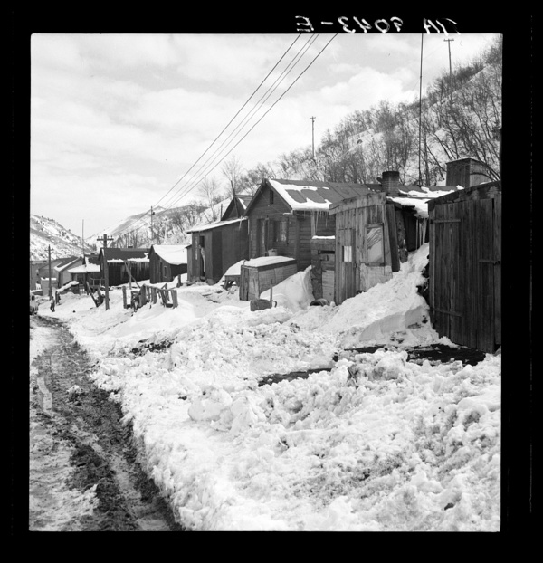 Consumers, near Price, Utah. Company housing. Rent approximately eight dollars monthly in Utah coal town