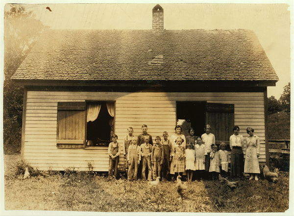 Life in Clark County, Kentucky in 1916