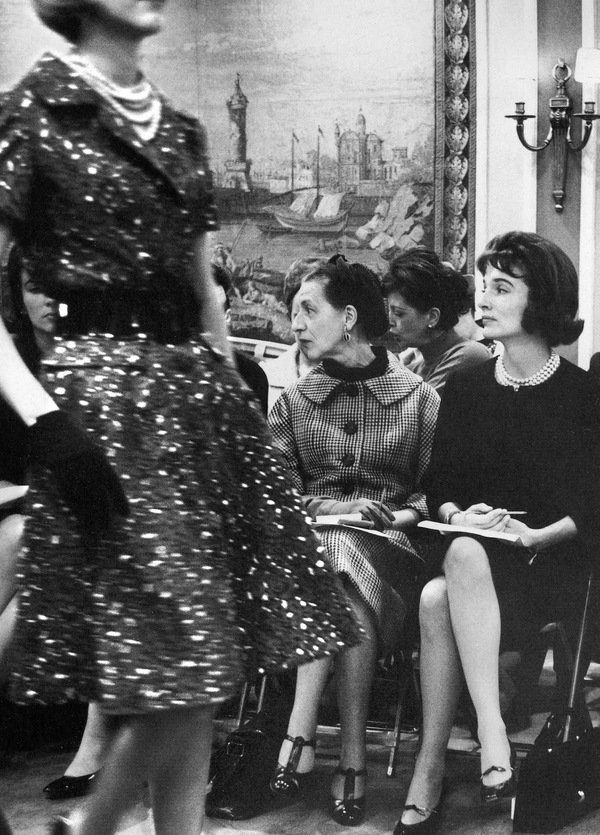 Christian Dior Fashion Shows in the 1940's and 1950's