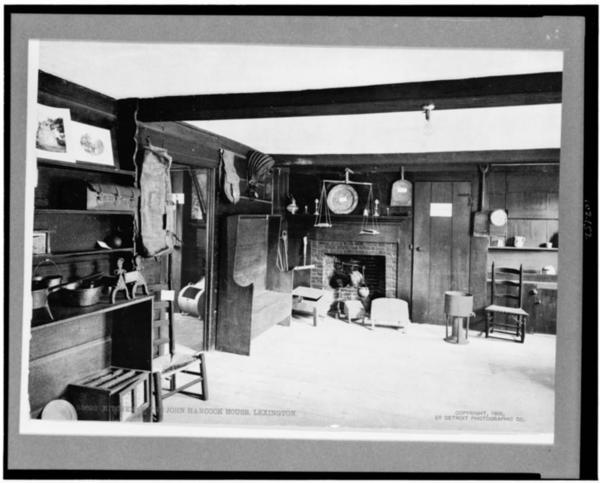 Kitchen of the John Hancock House, Lexington