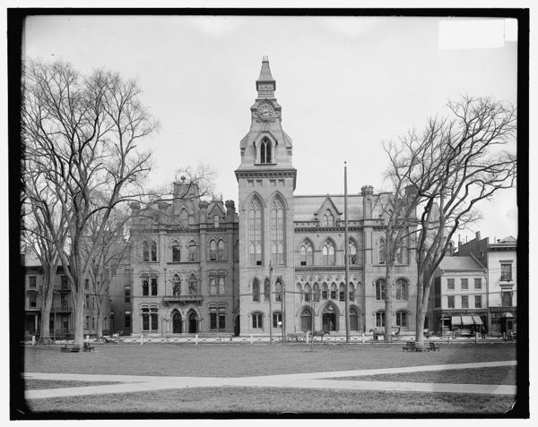 City hall & county court house, New Haven, Conn.