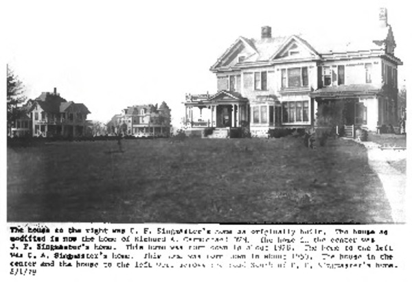 C.F. and Mary Singmaster House