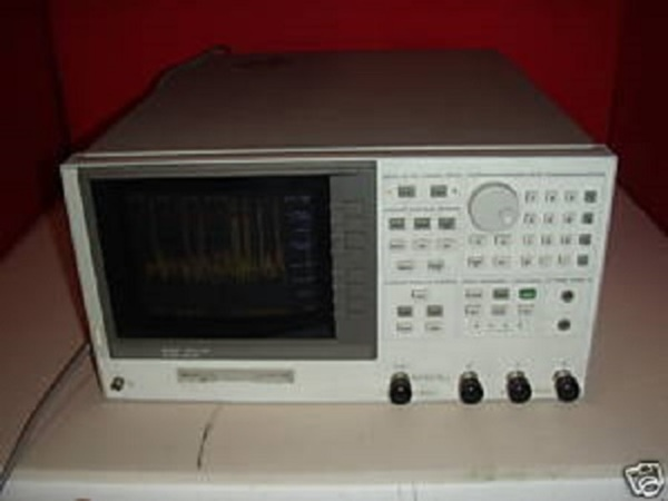 Network Analyzer And Harmonic : Agilent d rf network analyzer khz to ghz