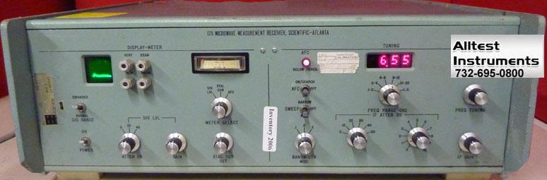 All Test Instruments : Scientific atlanta microwave receiver ebay