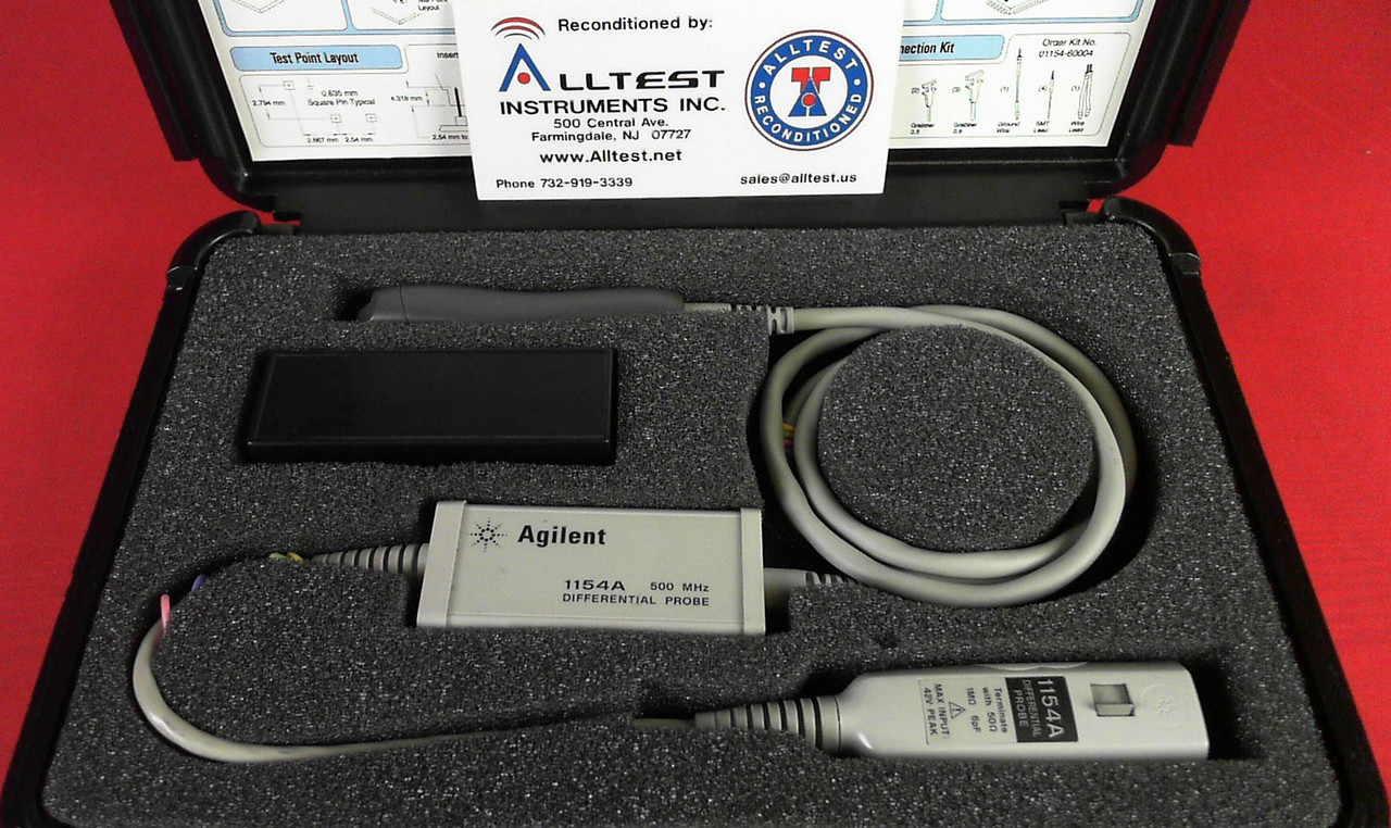 All Test Instruments : Hp agilent a mhz differential probe