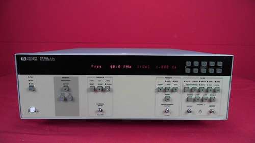 All Test Instruments : Hp agilent a parts unit high speed pulse generator