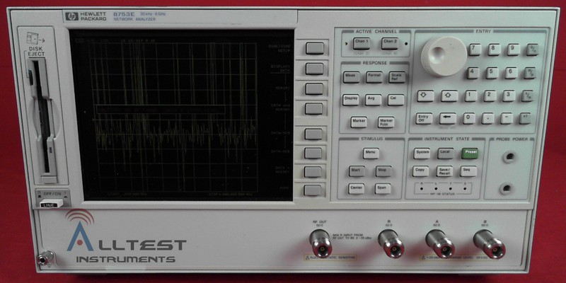 All Test Instruments : Agilent e rf vector network analyzer to ghz