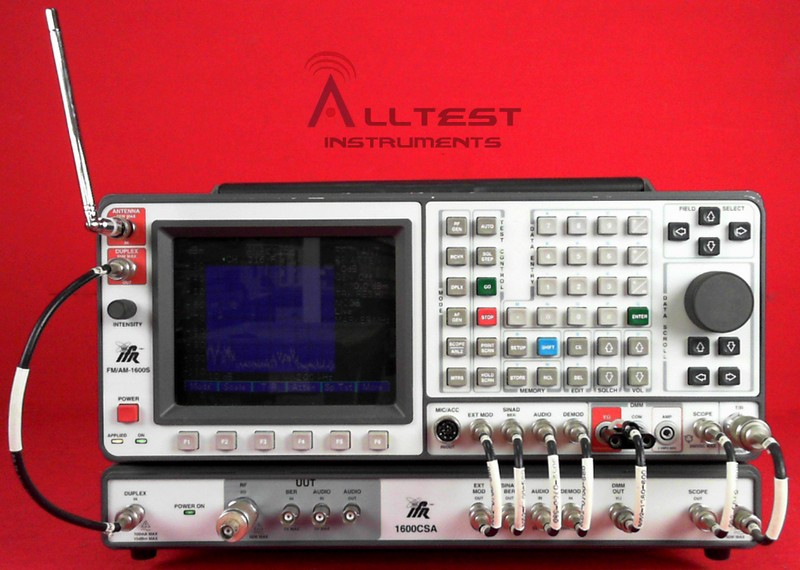 All Test Instruments : Ifr s fm am communications service monitor