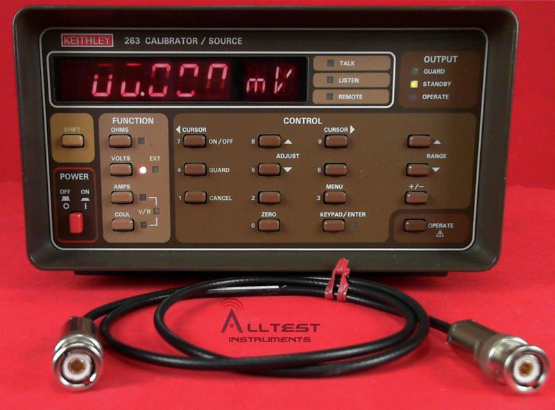All Test Instruments : Keithley calibrator source with gpib interface ebay