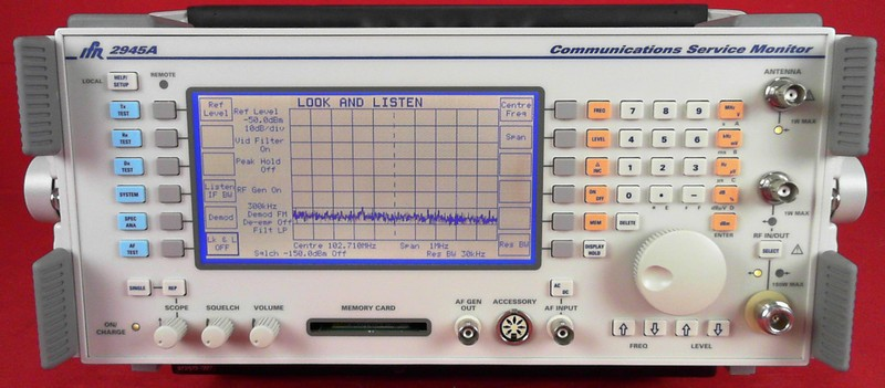 All Test Instruments : Ifr a communications service monitor ebay