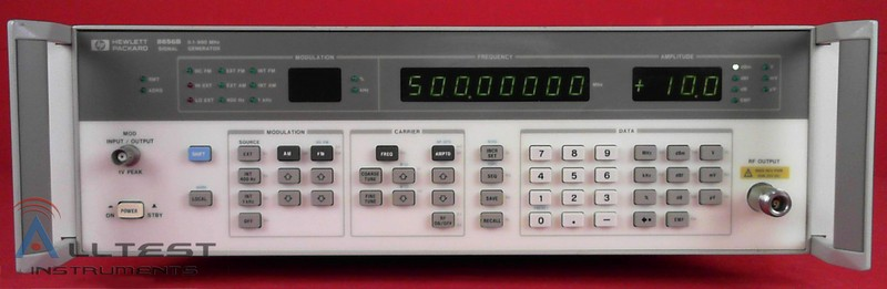 All Test Instruments : Hp agilent b synthesized signal generator to