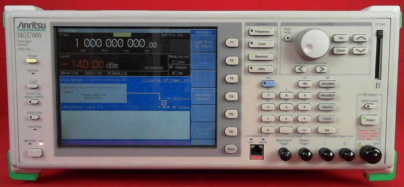 All Test Instruments : Anritsu mg a vector signal generator khz to