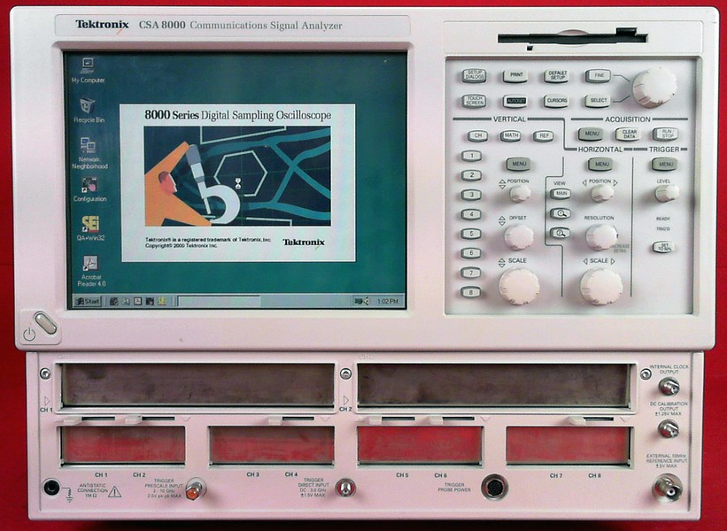 All Test Instruments : Tektronix csa for repair or parts as is
