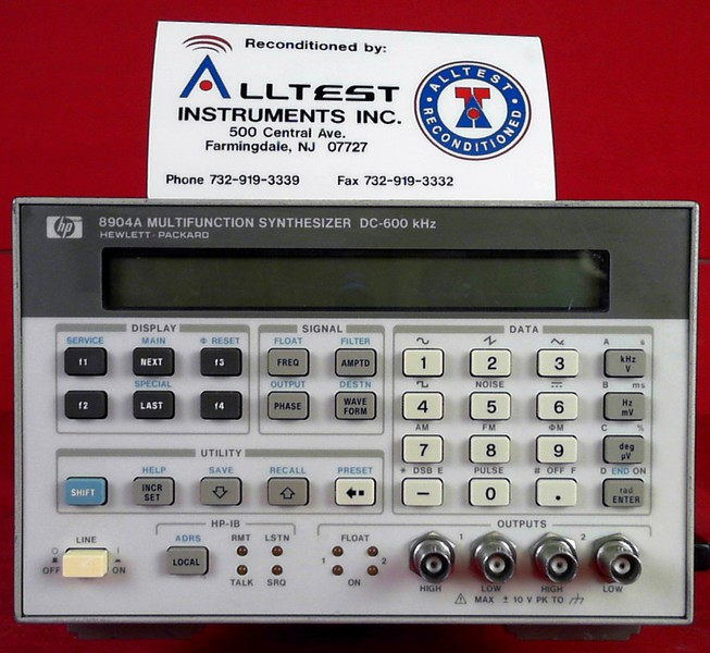 All Test Instruments : Hp agilent a dc khz multifunction