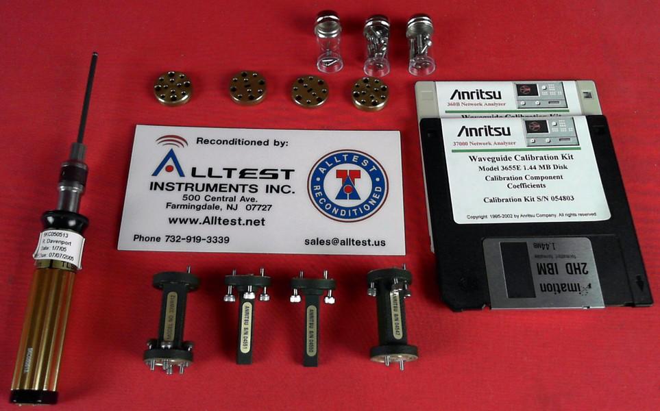 All Test Instruments : Anritsu e wr waveguide calibration kit