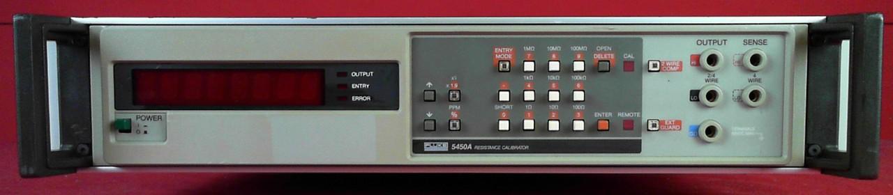 All Test Instruments : Fluke a resistance calibrator ebay