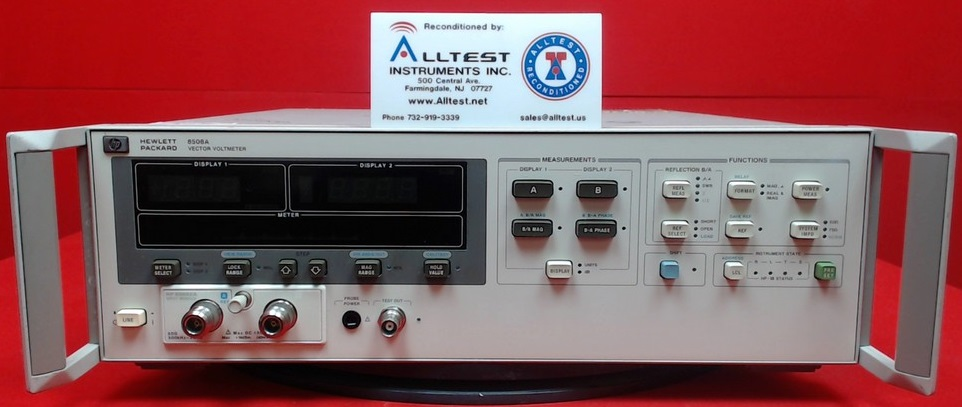 All Test Instruments : Hp agilent a vector impedance analyzer with
