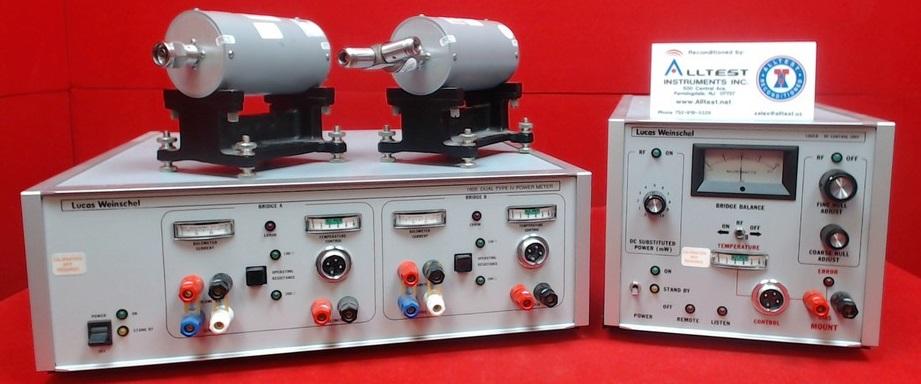 All Test Instruments : Lucas weinschel system iia  b m f