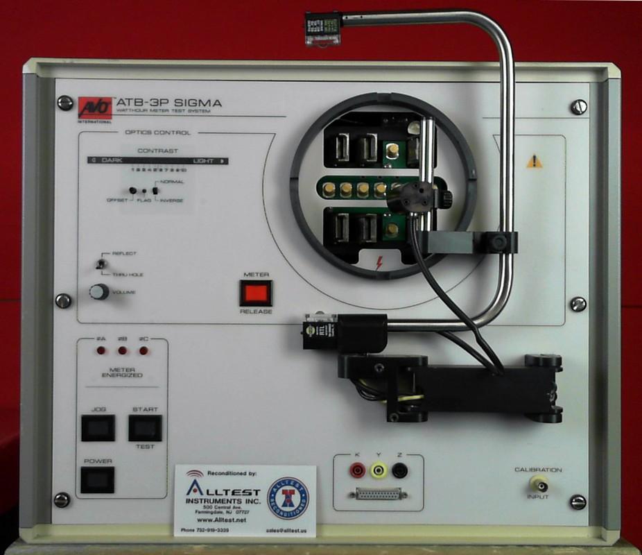 Watthour Meter Tester : Avo international atb p sigma watthour meter test system