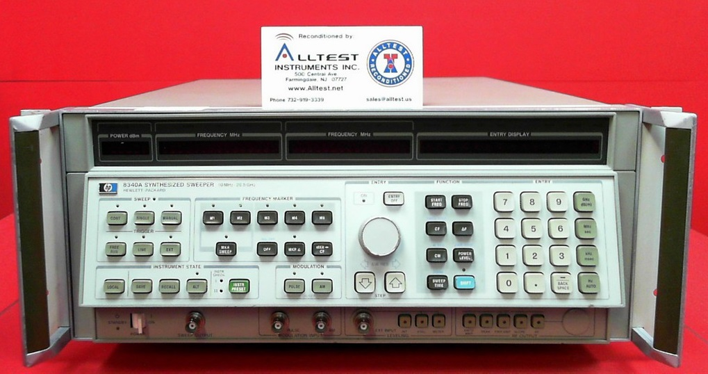 All Test Instruments : Hp agilent a  synthesized sweep signal
