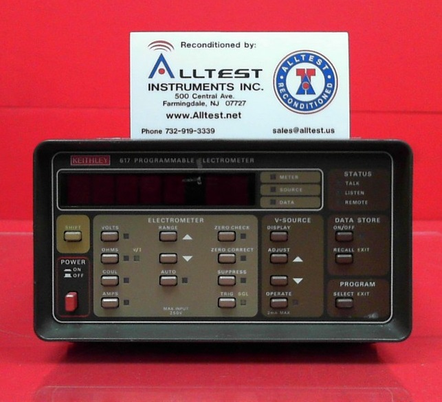 All Test Instruments : Keithley programmable electrometer