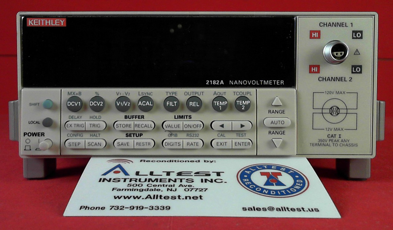 All Test Instruments : Keithley a two channel nanovoltmeter ebay