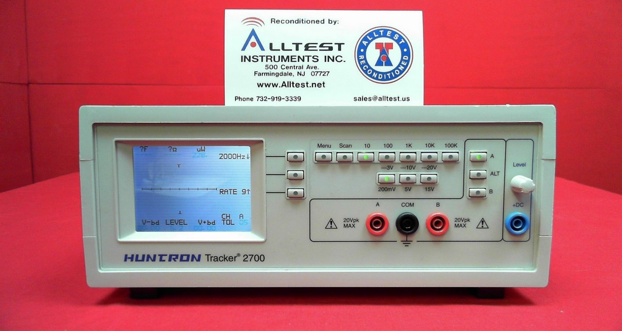 Huntron 2700 Tracker Guaranteed Working - 5 days to complete full testing  process - Calibration service available from ETS