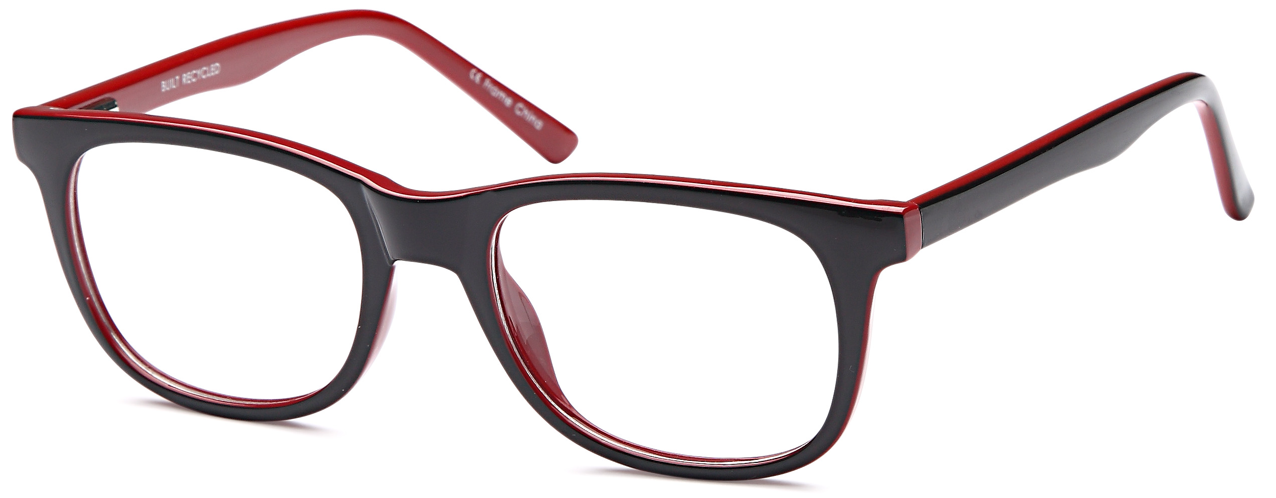 DALIX Glasses Frames in Black Red Womens Trendy Reading ...