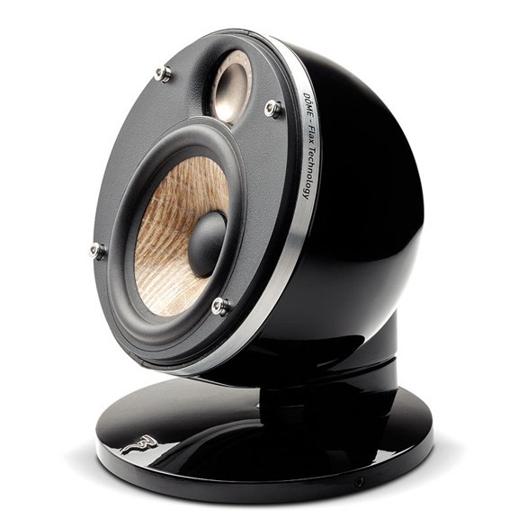 Focal Dome Flax 2-Way Compact Sealed Satellite Speaker ...