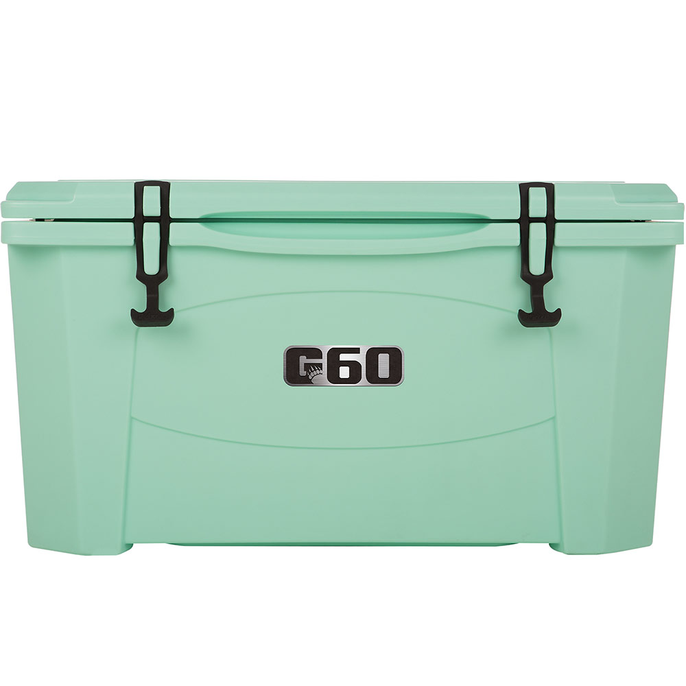 Green Styrofoam Coolers ~ Grizzly coolers quart sea foam green