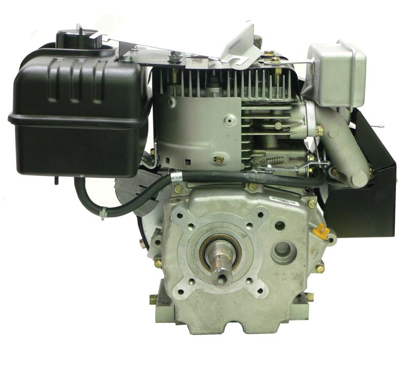 10hp Tecumseh Engine Mtd Tapered Shaft Recoil Muffler