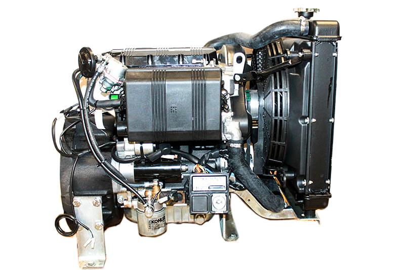 Kohler Diesel Engine 23 4hp Shaft 3 Cyl  Liquid Cooled