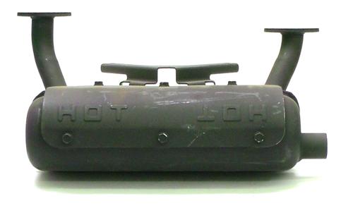 Kawasaki Parts Muffler Assembly Right Ka