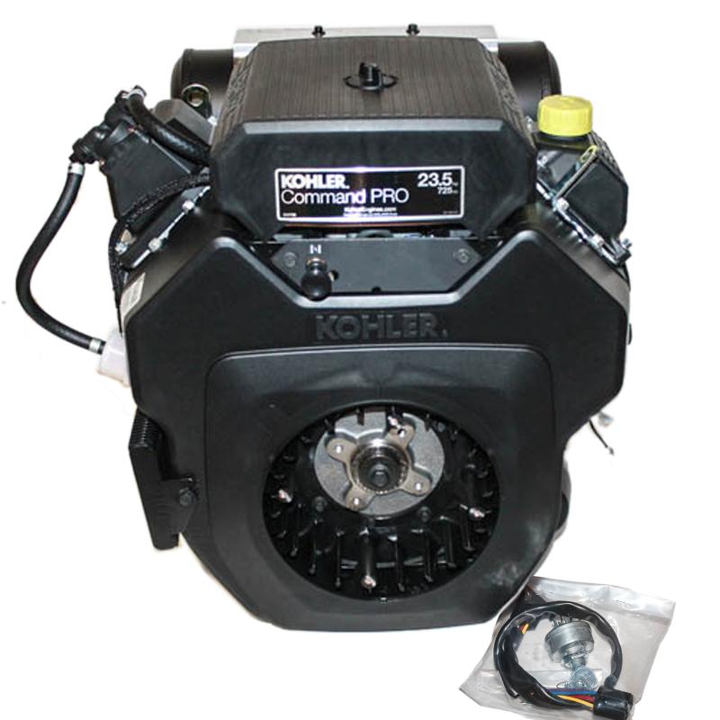 23.5hp Kohler Command Engine, Horizontal 1-7/16