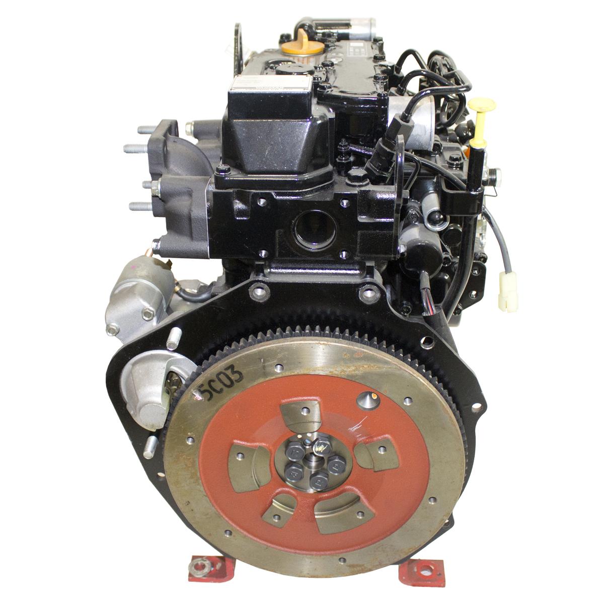 Yanmar 22.9 net hp @ 3600 RPM, 3 Cyl, Diesel, Liquid Cooled,  Yanmar Diesel Engine