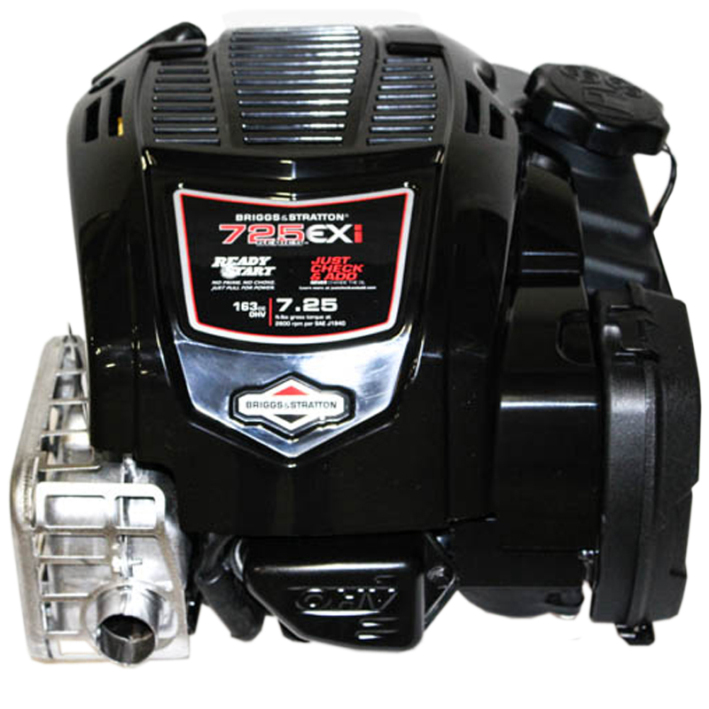 163cc 725EXI Gross Torque, Vertical 7/8