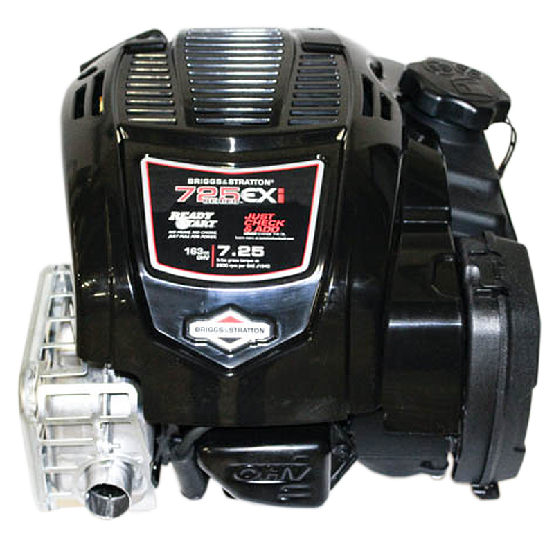 163cc 725EXI Gross Torque, Vertical 25mmx3-5/32