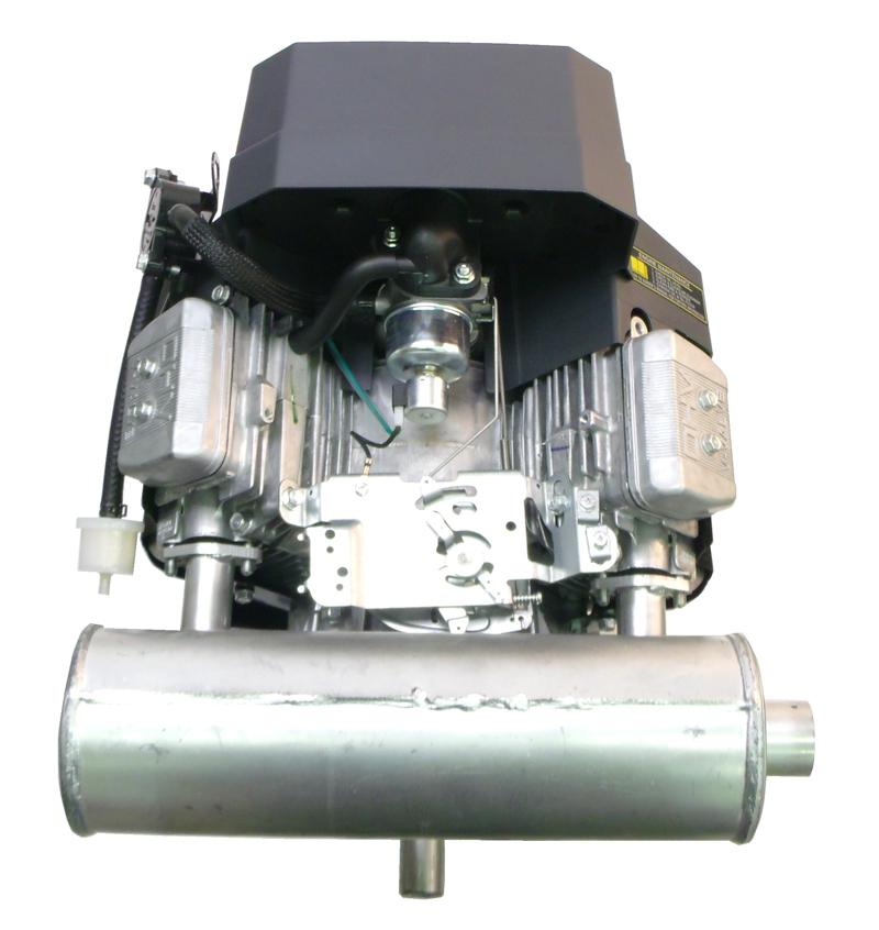 Small Engine Exhaust Parts : Kawasaki parts muffler right side ka ebay