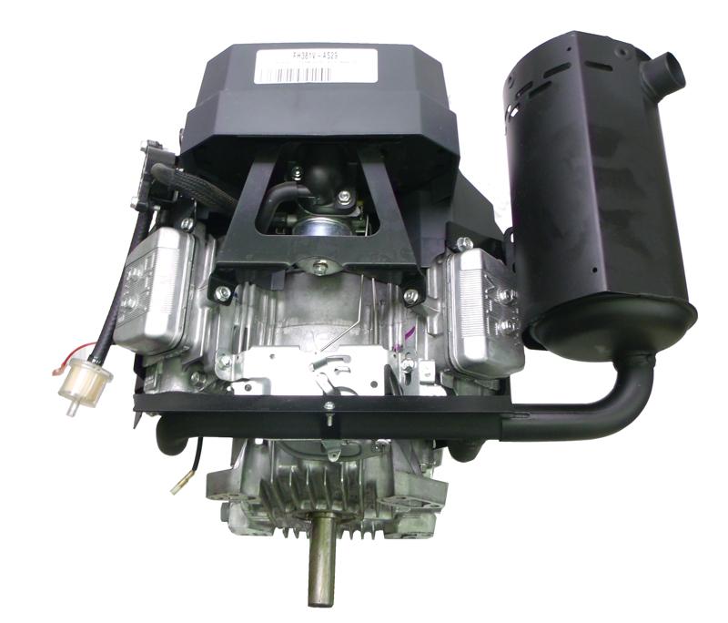 Small Engine Exhaust Parts : Kawasaki left muffler fits fh v engines