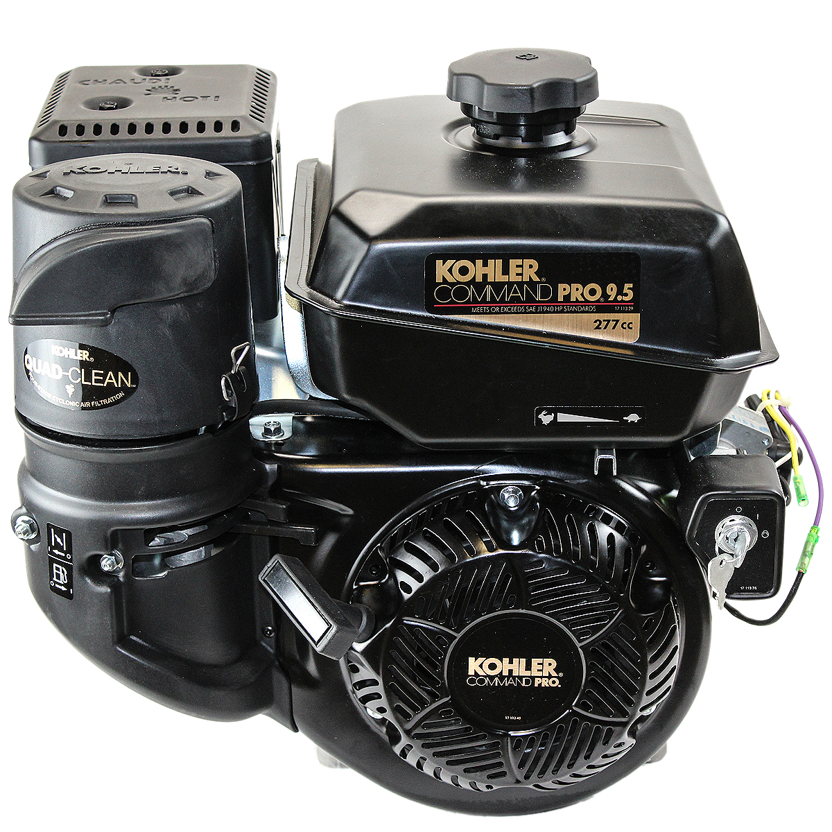 9.5HP Command Pro, 6:1 Gear Reduction Horizontal 1