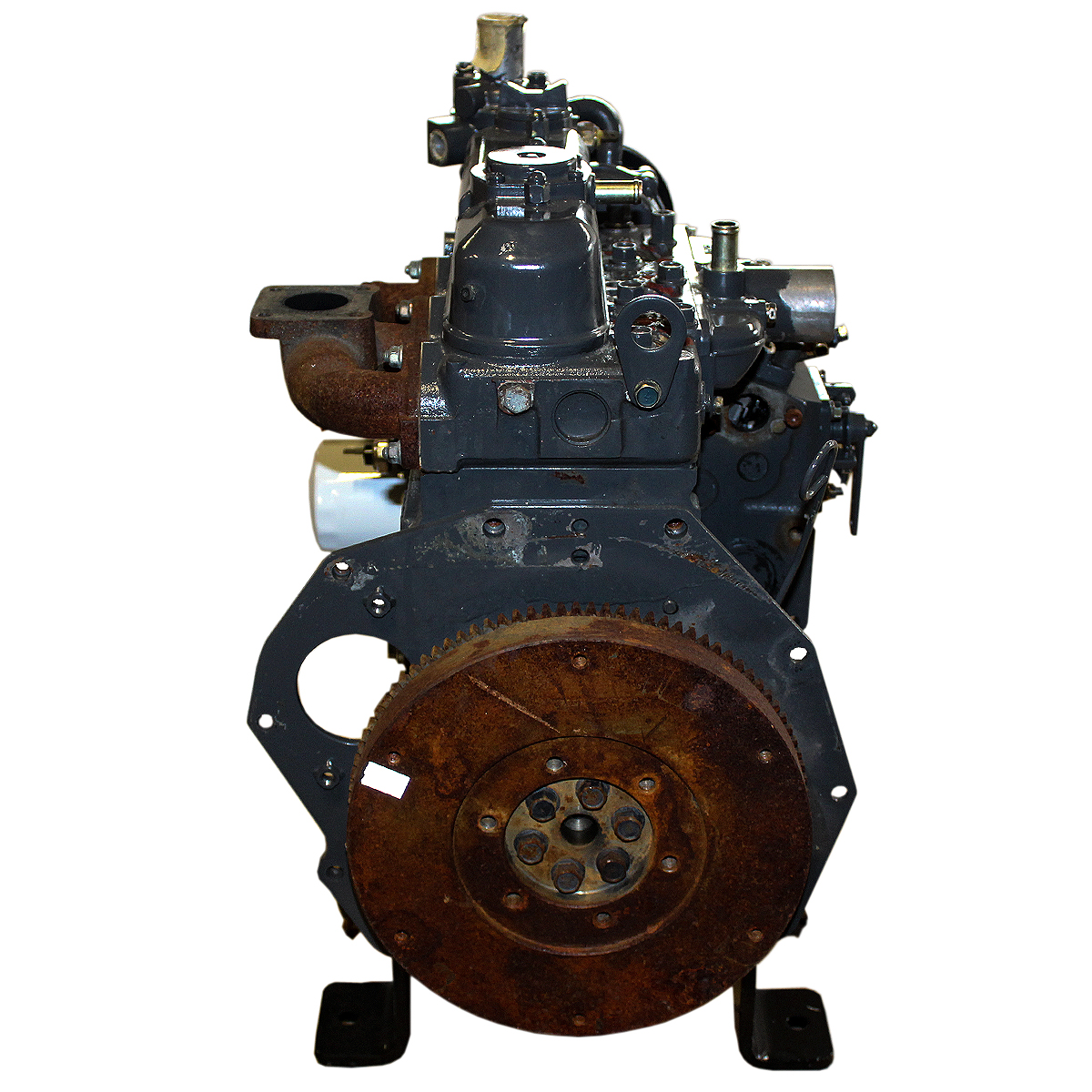 D1105-EU2 1G995-52000 24.8hp@3000 RPM D1105 3 cylinder diesel basic engine, (No Muffler, Radiator, Fuel Shutoff) Test Engine Kubota Diesel Engine